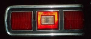 1975 Mercury Montego baklampa höger