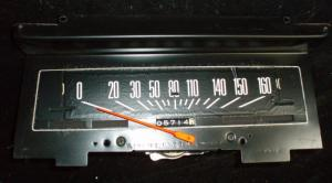 1976 Chevrolet Chevelle hastighetsmätare