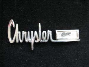 1963 Chrysler Emblem