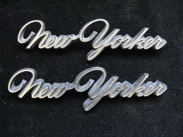 1966 Chrysler New Yorker Emblem