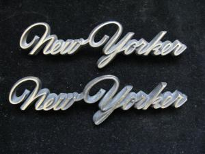 1966 Chrysler New Yorker Emblem