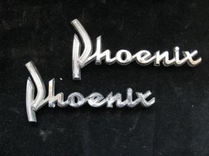 1960 Dodge Phoenix emblem (par)