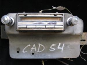 1954 Cadillac Radio
