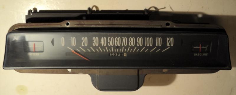 1968 Pontiac Catalina instrumenthus