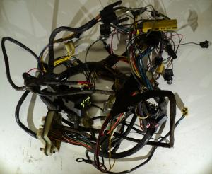 1962 cadillac fleetwood wiring harness under the dashboard
