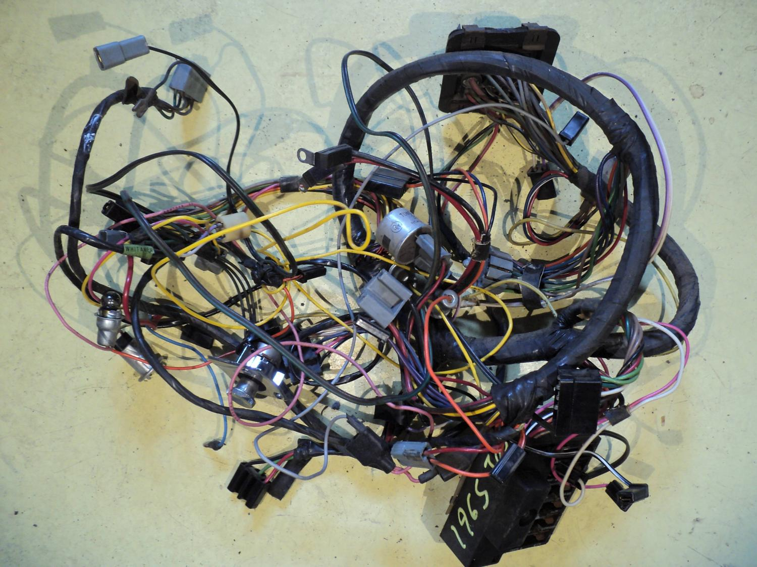 Chrysler Wiring Harness - Wiring Diagram & Cable Management on