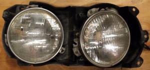 1969  Chrysler höger lamppotta