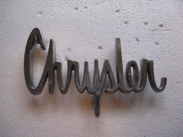 1963 Chrysler koffertemblem