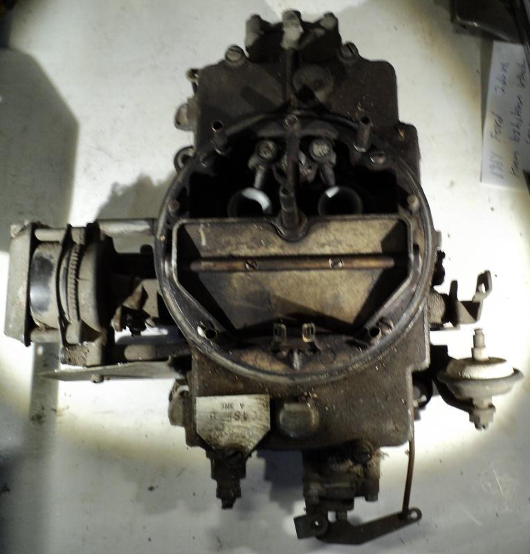 1964 Thunderbird Autolite  förgasareC4SF-B (sekundär portarna sitter fast, primär fria)   4 port
