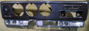 1968   Oldsmobile 98    del instrumentbräda