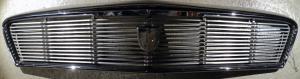 1956 Chrysler NewYorker  grill (en spricka i ramen annars fin, se bild)   Obs  Endast hämtning!