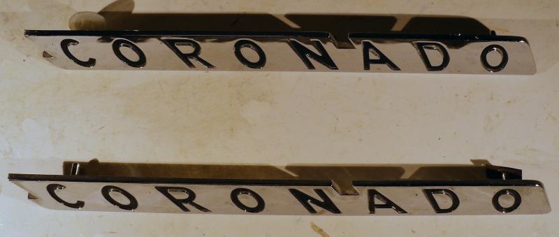 1955  Desoto  Coronado emblem  par