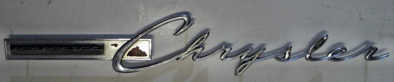 1965 Chrysler   emblem