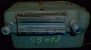 1955 Cadillac radio porigt krom