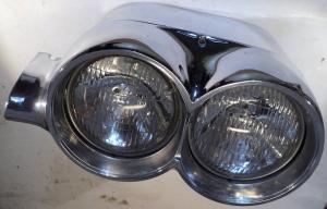 1959  Chrysler Imperial   lykthus + lampsarg vänster (Lite porer i kromet)