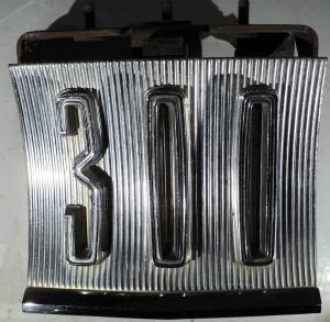 1965  Chrysler 300          tanklockslucka