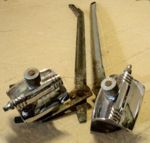 1953 Oldsmobile 88 torkarmekanism och stag