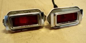 1970 Buick LeSabre positions ljus vänster och höger