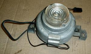 1960 Pontiac motorumsbelysning med kabelrulle (emergency reel out light)