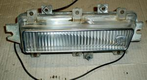 1968 Cadillac positions ljus på höger skärm
