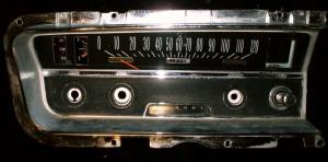 1965 Buick Special instrumenthus