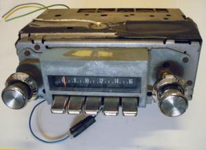 1970 Pontiac Catalina radio (ej testad)