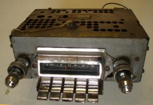 1962 Pontiac radio (ej testad)