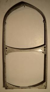 1967   Cadillac      lackade sargen mellan kromet och skärm