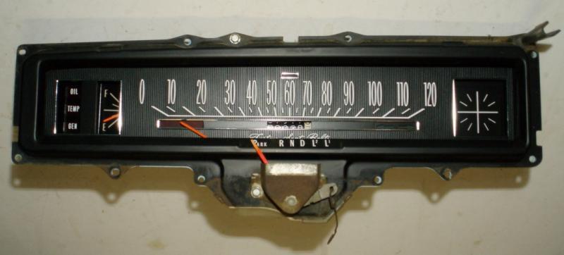 1969 Buick Skylark instrumenthus