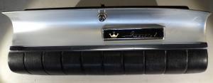 1959  Chrysler Imperial  handskfackslucka svart läder (utan nyckel)
