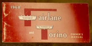 1968 Ford Fairlane and Torino owners manual