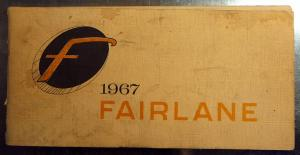 1967 Ford Fairlane owners manual