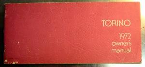 1972 Ford Torino owners manual