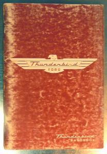 1955 Thunderbird handbook