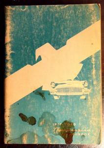 1957 Thunderbird handbook