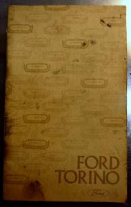 1975 Ford Torino owners manual