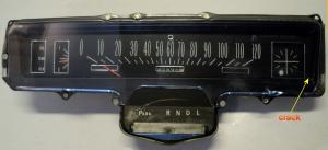 1967 Buick Skylark instrumenthus