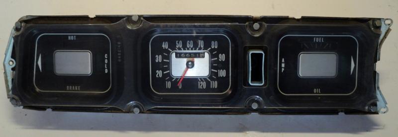 Oldsmobile 98 instrumenthus