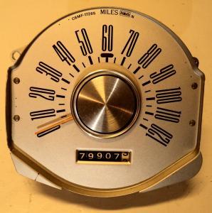1966 Mercury hastighetsmätare
