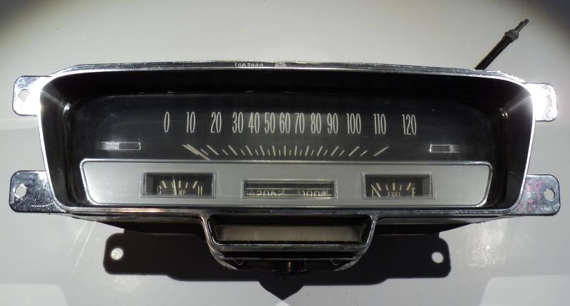 1960 Cadillac instrumenthus