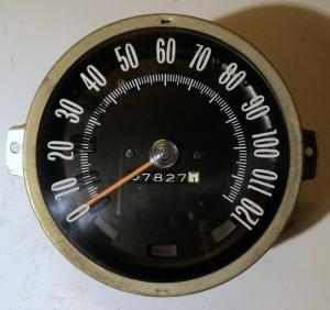 1965 Oldsmobile 98 hastighetsmätare