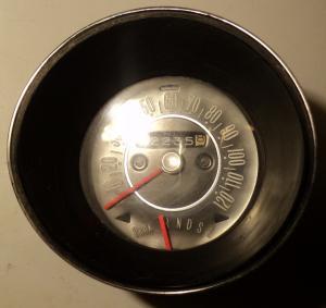 1969   Oldsmobile Cutlass    hastighetsmätare (arm till växelindikator av)