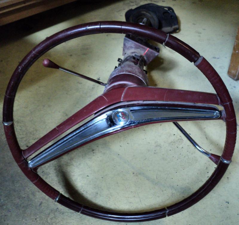 1964 Buick LeSabre aut.   rattstång (ratten sprucken, några porer i signalringen)