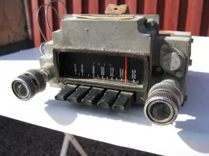 1968 Ford Fairlane Radio (ej testad)