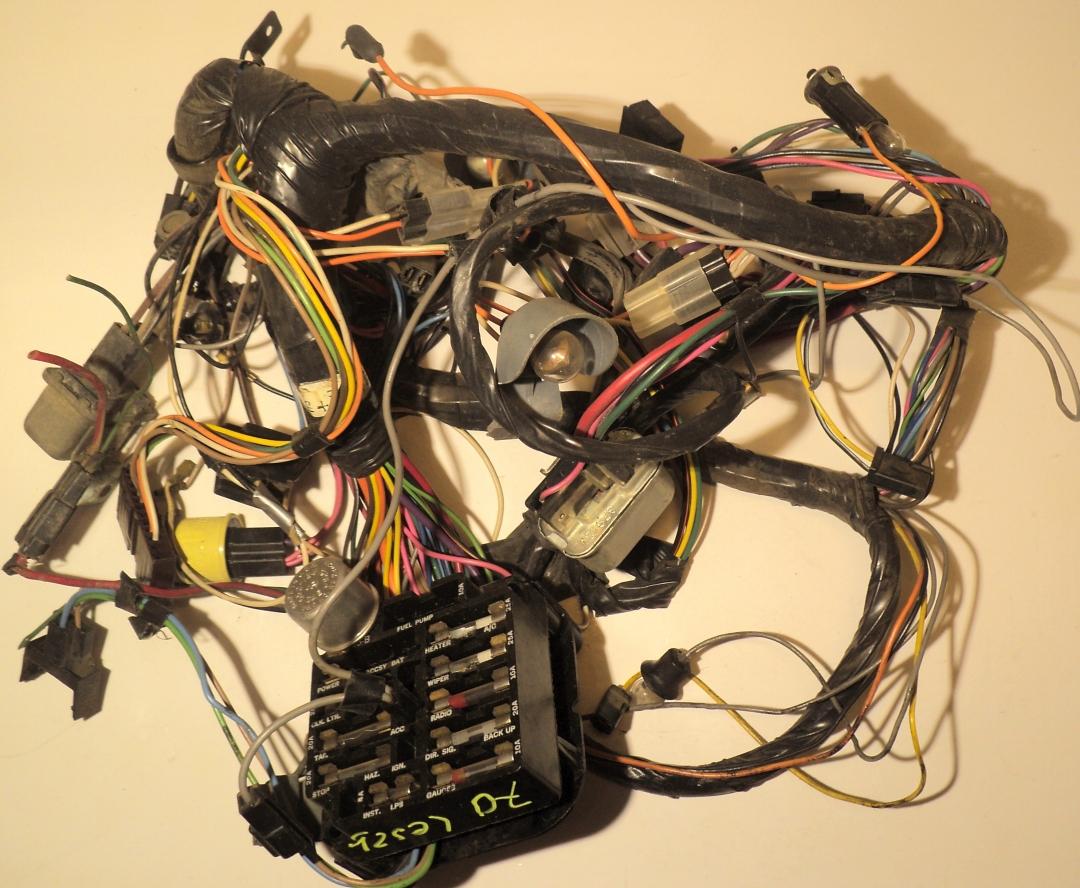 1970 buick lesabre wiring harness under the dashboard  pg larsson bildelar ab