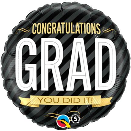 """18"""" (46 cm) Congratulations Grad"""