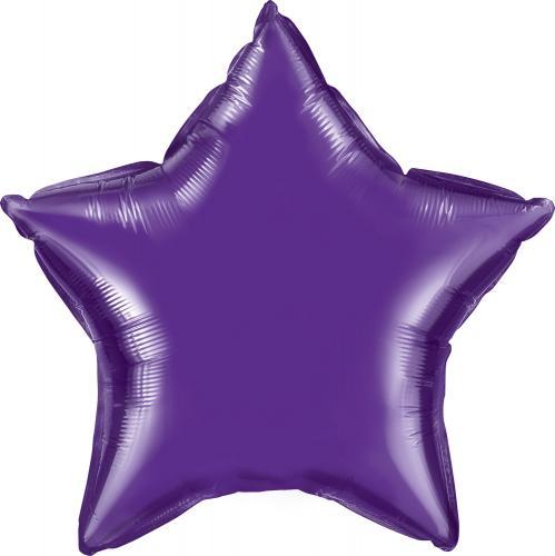 """36"""" (90 cm) Stjärna Lila"""