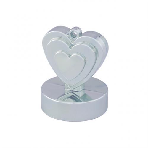 Hjärtformad Tyngd Silver