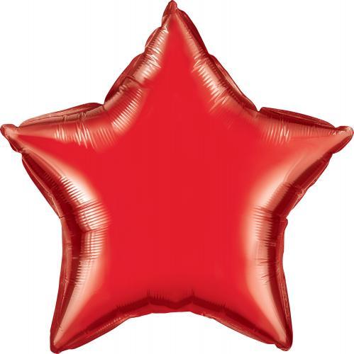 "36"" (90 cm) Stjärna Röd"