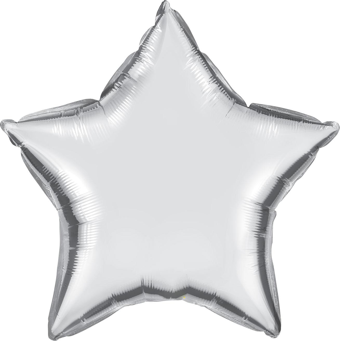 """20"""" (51 cm) Stjärna Silver"""